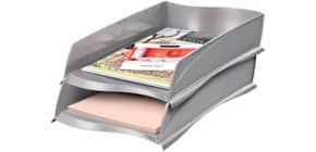 Briefablage 300X met.grau Produktbild