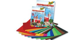 Fotokartonblock 10Farben sort FOLIA 607 A3 300g 10BL Produktbild