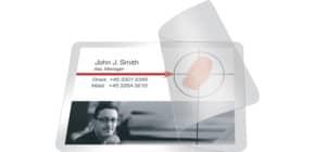 Pouches per plastificazione a freddo Q-Connect per carte di credito f.to 10x6.6 cm Conf. 10 pezzi - KF27057 Immagine del prodotto