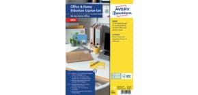 Universaletiketten Office&Home sortiert Produktbild