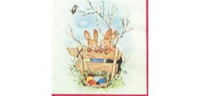 Osterserviette Zelltuch Produktbild