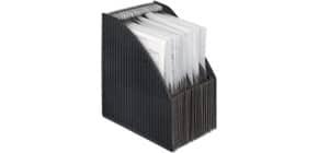 Stehsammler Fächerbox schwarz Produktbild