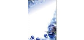 Weihnachtspapier Blue Harmony Produktbild