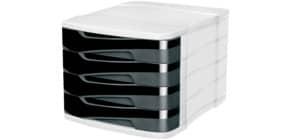 Schubladenbox 394X h.gr/sw Produktbild