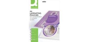 Pouches per plastificatrici Q-Connect 2x125 µm finitura lucida A4 Conf. 25 pezzi - KF24056 Immagine del prodotto
