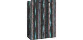 Geschenktragetasche Streifen 06-0259 32x23x11cm Produktbild