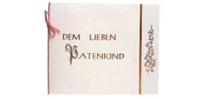 Taufbrief  rosa Produktbild