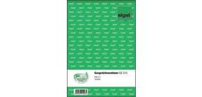 Gesprächsnotiz A5 50BL SIGEL GE515 Produktbild