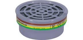 Kit di 2 filtri A1B1E1K1 per semi maschere M6200 e M6400 Jupiter grigio - M6000EABEK1 Immagine del prodotto