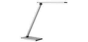 Lampada da tavolo a led UNILUX Terra grigio metallizzato con dimmer 400077409 Immagine del prodotto