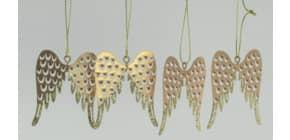 Behang 4ST Flügel gold Produktbild