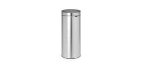 Pattumiera Brabantia Touch Bin New 29,5x32x72 cm 30 litri Inox Satinato - 115349 Immagine del prodotto