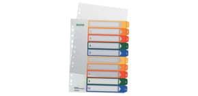 Ordnerregister 1-10 PP A4 tran Produktbild