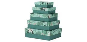 Geschenkkarton Samoa RÖSSLER 13411600005   5tlg Produktbild