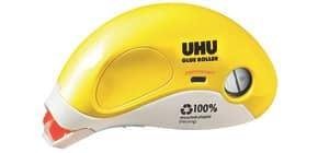 Kleberoller nachfüllbar gelb/weiß Produktbild