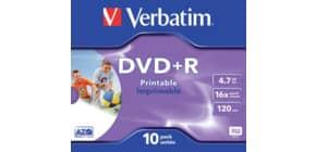 DVD+R im Jewelcase 10er Pack inkl. URA Produktbild