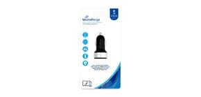 Caricabatteria per auto Media Range 3.4A dual USB nero/argento MRMA103-02 Immagine del prodotto