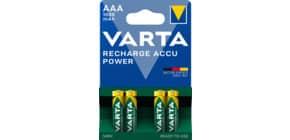 Batterie Akku AAA 4ST grün Produktbild