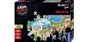 Puzzle Chaos im Zoo Kids KOSMOS 697990 150 Teile Produktbild
