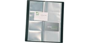 Portabiglietti da visita Q-Connect buste cm buste saldate nero KF03664 Immagine del prodotto