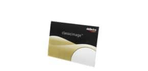 Porta-avvisi deflecto® A4 orizzontale in polistirene con base a L trasparente 47301 Immagine del prodotto