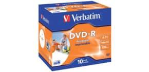 DVD-R im Jewelcase 10er Pack inkl. URA Produktbild