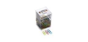 Fermagli Leone in filo colorato metallizzato Gran Mix misure assortite scatola da 125 g. - FXB125GMIX Immagine del prodotto