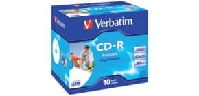 CD-R im Jewelcase 10er Pack inkl. URA Produktbild