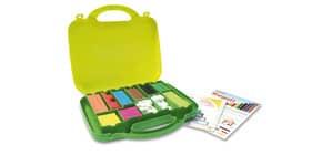 Regoli ARDA 10 misure/10 colori in plastica colorata Conf. 200 pezzi - 121 Immagine del prodotto