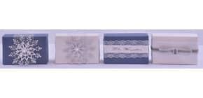 Schafmilchseife Weihnachten blau/weiß FLOREX 0456 150gr. Produktbild