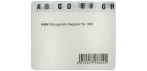 Leitregister A8quer A-Z 12-teilig Produktbild