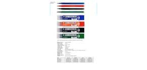 Refill inchiostro gel cancellabile RISCRIVI 0,7 mm verde astuccio da 3 - OW 10136 V Immagine del prodotto