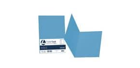 Cartellina semplice FAVINI FOLDER S cartoncino Simplex Luce&Acqua 200 g/m² 25x34cm azzurro 55  conf.50 - A50G664 Immagine del prodotto