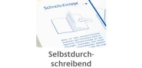 Rechnungsbuch A6q 2x40Bl Produktbild