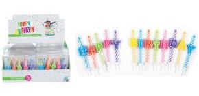 Geburtstagskerze 13-tlg. TRENDHAUS 942197 Birthday Fun Produktbild