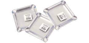 Aschenbecher Alu 12.5x12.5cm HOSTI 10610020 10ST Produktbild