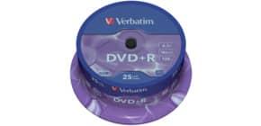 DVD+R 25er Spindel inkl. URA Produktbild