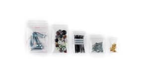 Buste Grip trasparenti WeGrip 16x22 cm trasparente neutra conf. da 1000 buste - TG160220 Immagine del prodotto