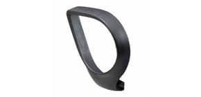 Coppia braccioli fissi ovali Unisit Jack nero - ACCBRJCF2 Immagine del prodotto