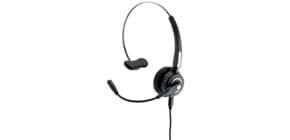 Cuffia mono auricolare per PC Media Range wireless con microfono - batteria 180mAh - nero - MROS305 Immagine del prodotto
