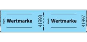 Gutscheinmarke 500St/Rl blau SIGEL Gr555 Wertmarke Produktbild