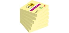 Foglietti riposizionabili Post-it® Super Sticky Notes 76x76 mm Giallo Canary™ blocchetto 90 ff - 654-12SSCY-EU Immagine del prodotto