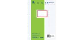 Ringbucheinlage A4 100 Blatt kariert m.KR o.R. URSUS OE 084499023 Produktbild
