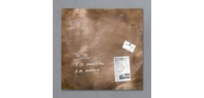 Magnettafel Glas Bronze Produktbild