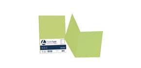 Cartellina semplice FAVINI FOLDER S cartoncino Simplex Luce&Acqua 200 g/m² 25x34cm pistacchio 54  conf.50 - A50M664 Immagine del prodotto