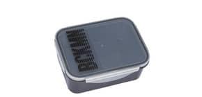Jausenbox  Clear/Schwarz Produktbild