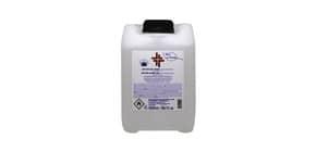Gel igienizzante mani (alcol 70%) 5.000 ml - Active linea Bosco di Rivalta - tanica trasparente Immagine del prodotto