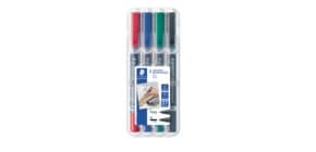 Overheadstift 4ST Duo permanen Produktbild
