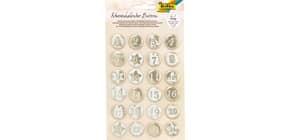 Adventkalender Buttons Produktbild