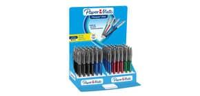 Penna a sfera a scatto Paper Mate Flexgrip Elite L 1,4 mm assortiti espositore da 60 pezzi - 2037840 Immagine del prodotto